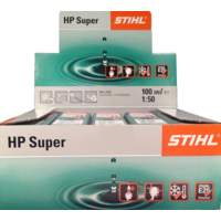 10x Stihl HP Super One Shot 2 Stroke Oil 100ml 50:1 0781 319 8052