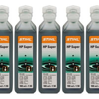 5x Stihl HP Super 2 Stroke Oil 100ml One Shot 0781 319 8052