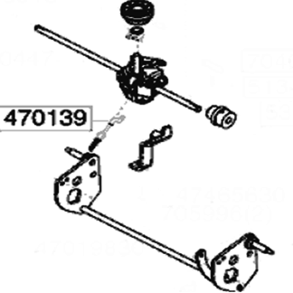 AL-KO Lawnmower Drive Cable 470139