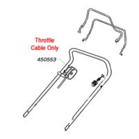 AL-KO Replacement Throttle Cable (AK450553)