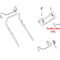 AL-KO Replacement Throttle Cable (AK545187)