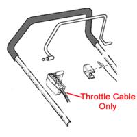 AL-KO Replacement Throttle Cable (AK549670)