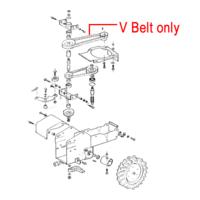 AL-KO Scythe Mower V Belt 409057