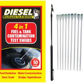 B3C 4 in 1 Diesel Contamination Test Swabs Pack of 10