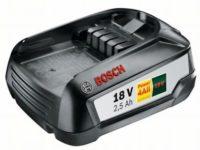 Bosch 18 V Battery - PBA 18V 2.5Ah W-B (Battery)