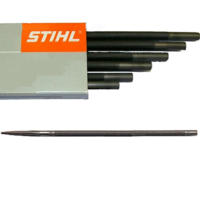 Box of 6 Stihl 3.2mm Round Chainsaw File Files 1/4 Chain 5605 771 3206