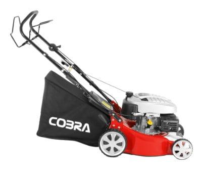 "Cobra M40SPC Self Propelled 16"" Petrol Lawn Mower"