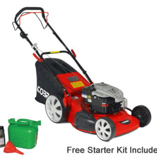 Cobra M51SPB 51cm 4 in 1 Self Propelled Petrol Lawn mower
