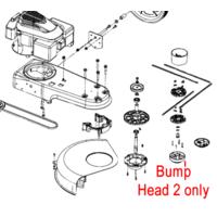 Cobra WT56B Wheeled Trimmer Bump Head 2 71010