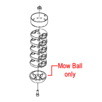 DR Mow Ball Wheeled Trimmer 311011