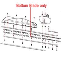 Gardencare Hedge Trimmer Bottom Blade GCGJB25S.06.02-00