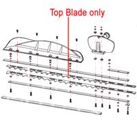 Gardencare Hedge Trimmer Top Blade GCGJB25S.06.01-00