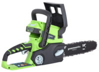 Greenworks G24CSK2 24V Chainsaw with 2Ah battery and charger