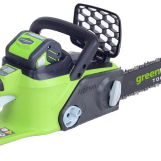 """Greenworks GD40CS40K2 40v Brushless 40cm (16"""") Chainsaw with battery and charger NEW"""