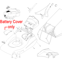 Hayter Harrier 56 Battery Cover 560015