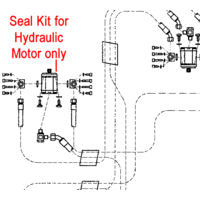 John Deere Hydraulic Motor Seal Kit EPC204698