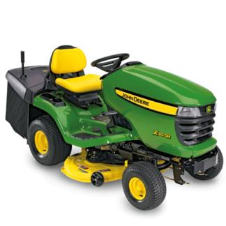 John Deere X305R Rear Collection Ride On Lawnmower
