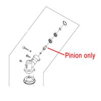 Mitox Gear Head Pinion Brushcutter Multi-tool MICG415D.6-4