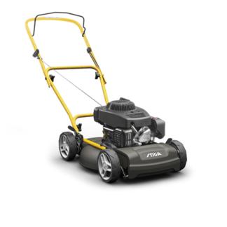 Stiga Multiclip 47 Blue Push Mulching Lawn mower