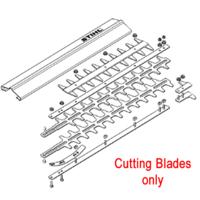 "Stihl HS75 & HS80 20"" Hedge trimmer Blade Set (s/n 145512844)"