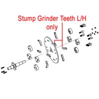 Weibang Stump Grinder Teeth Left Hand DSZ0000091/04
