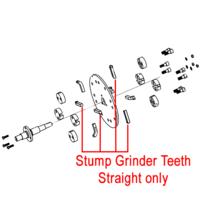Weibang Stump Grinder Teeth Straight DSZ0000081/04