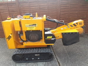 Predator 38 Radio Remote Stump Grinder