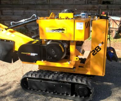 Review Of The Predator 28 And 38 Radio Remote Stump Grinder