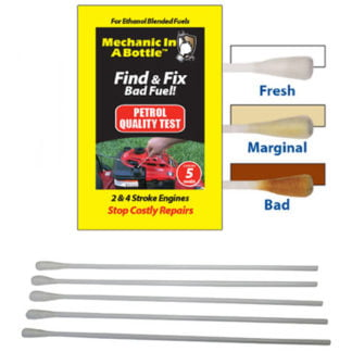 B3C Mechanic In A Bottle Petrol Test Swabs Pack of 5