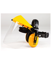 Brushcutter - Combi Clear Visor with Ear Defenders