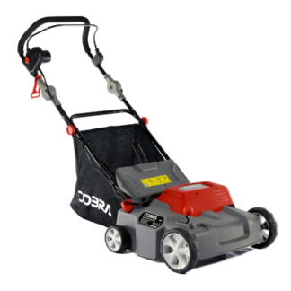 Cobra S36E 2 in 1 Electric Scarifier and Lawn Rake