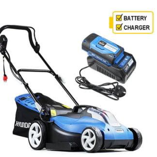 Hyundai HYM60Li420 60v Cordless 42cm Rear Roller Lawn mower C/W Battery and Charger