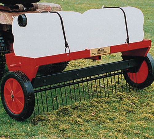 SCH 40 inch Grass Care System - Heavy Duty Moss Rake Attachment (HGM)