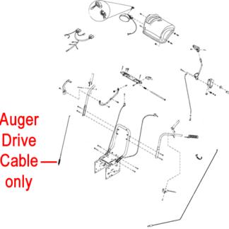 Stiga Snow Fox , Flake, Power & Blizzard Drive Cable 1812-2542-01