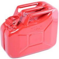10 Litre Red Steel Jerry Can (F-1200)