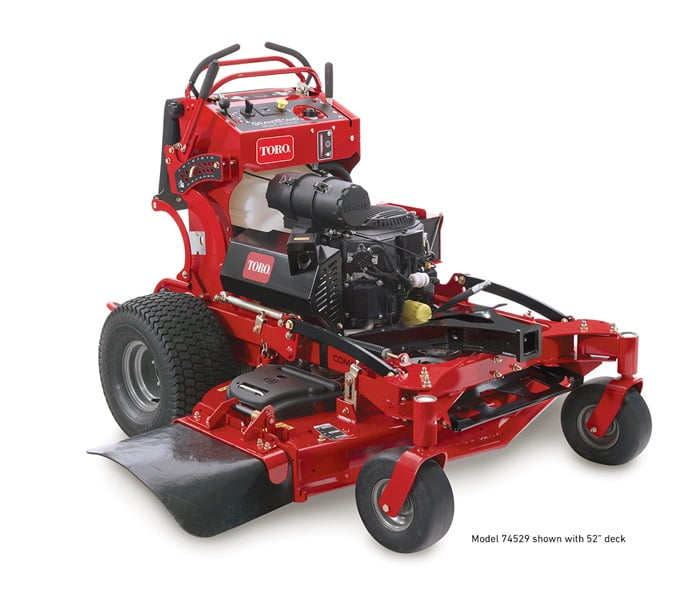 Toro Grandstand Multi-Force Stand on Power Unit