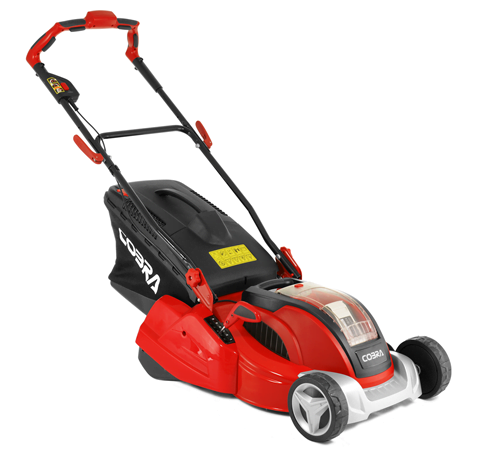 Cobra RM4140V Cordless Push Rear Roller Lawnmower