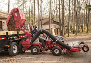 High Lift RV602 Ventrac vacuum Collection System