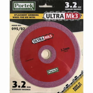 Portek Ultra 3 Replacement Sharpening Wheel 3.2mm