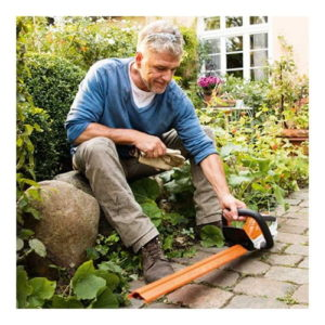 Stihl HSA 45 Cordless Hedge Trimmer With Cover