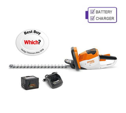 Stihl HSA 56 Cordless Hedge Trimmer with Battery and Charger