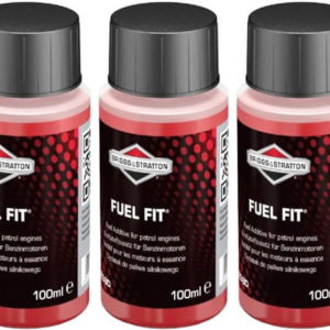 Three 100ml Bottles Briggs & Stratton Fuel Fit Stabiliser 992380