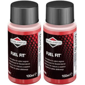 Two 100ml Bottles Briggs & Stratton Fuel Fit Stabiliser 992380