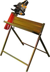 Handy Saw Horse with Chainsaw Support