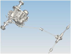 John Deere HPX815E Gator Precision Engineered Drive System