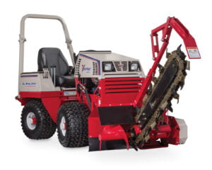 Ventrac 4500 Articulated Tractor Trencher Attachment