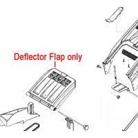 AL-KO Lawnmower Grass Deflector Flap 46346702