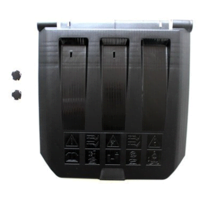 AL-KO Replacement Grass Deflector Flap c/w 2 x Plugs (46346701 & 2X 46051201)