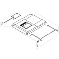 AL-KO Replacement Lawnmower Rear Grass Deflector Flap AK54518101