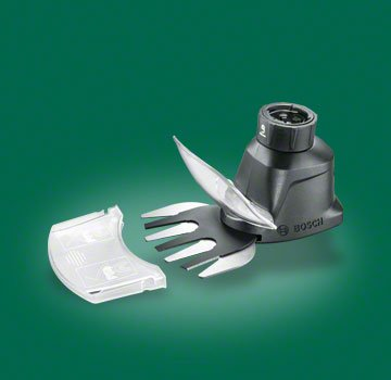 Bosch IXO Garden Set - IXO Grass and Shrub Shear adapter